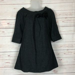 Vera Wang Lavender Label Wool Silk Blend Top Sz 6